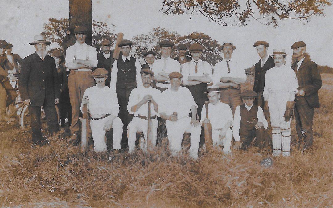 Cricket Team 1900s