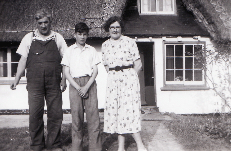Arthur and Nora Cane, 1955.