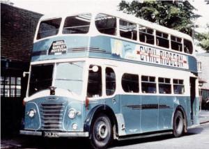 chrishall buses