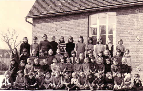 Chrishall School 1970s