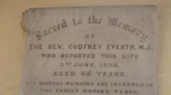 Rev. Godfrey Everth's Book of Poetry