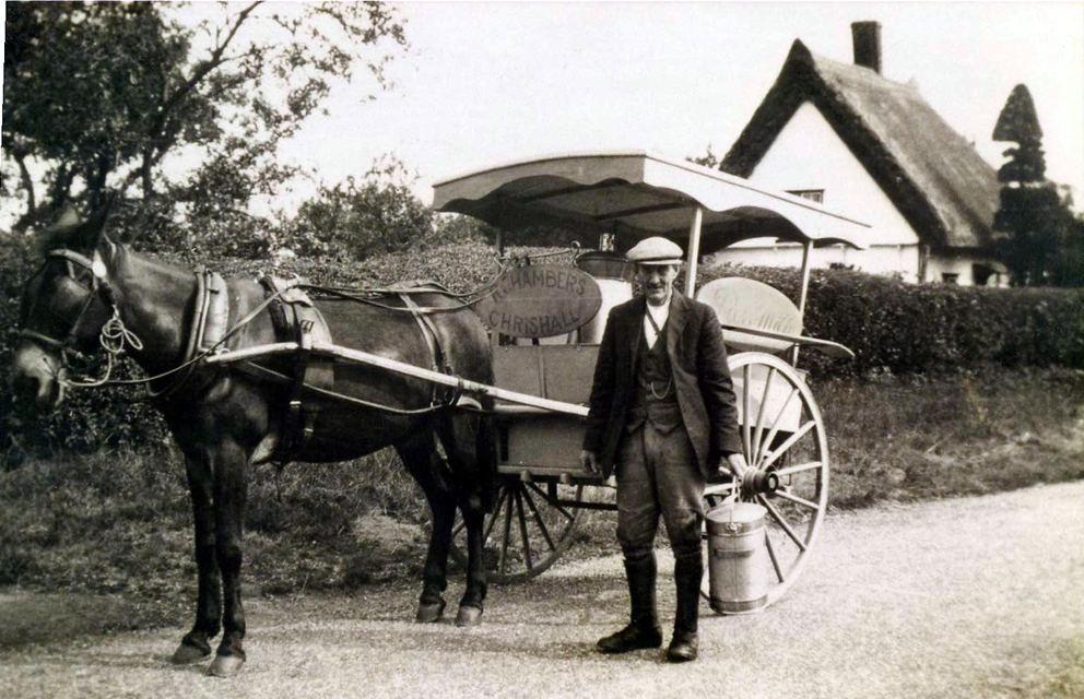 Chambers Milk Cart