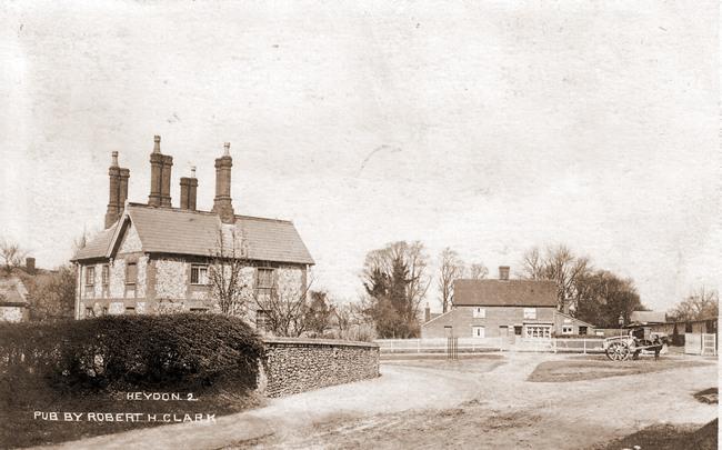 Heydon village centre