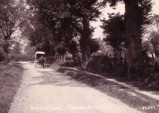 Baker's cart on Palmers Lane