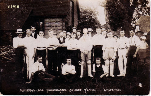Cricket Team 1910