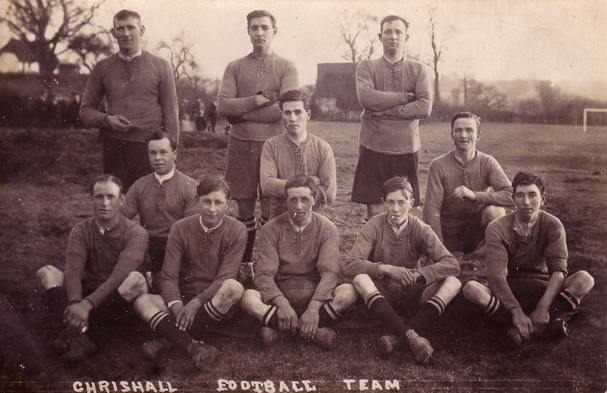 Chrishall Football Team 1921