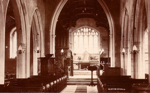 Re-opening of the church 1869