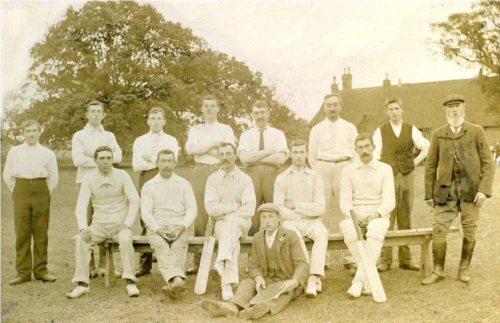 Chrishall Cricket Team 1910