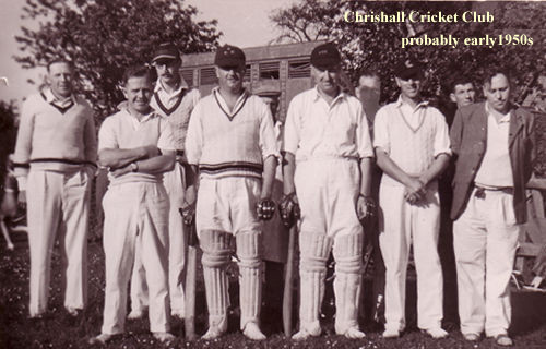 Cricket Team 1949