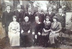 harvey family golden wedding