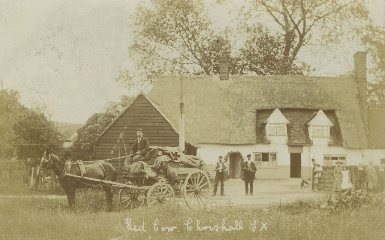 The Red Cow, Chrishall – Known Residents