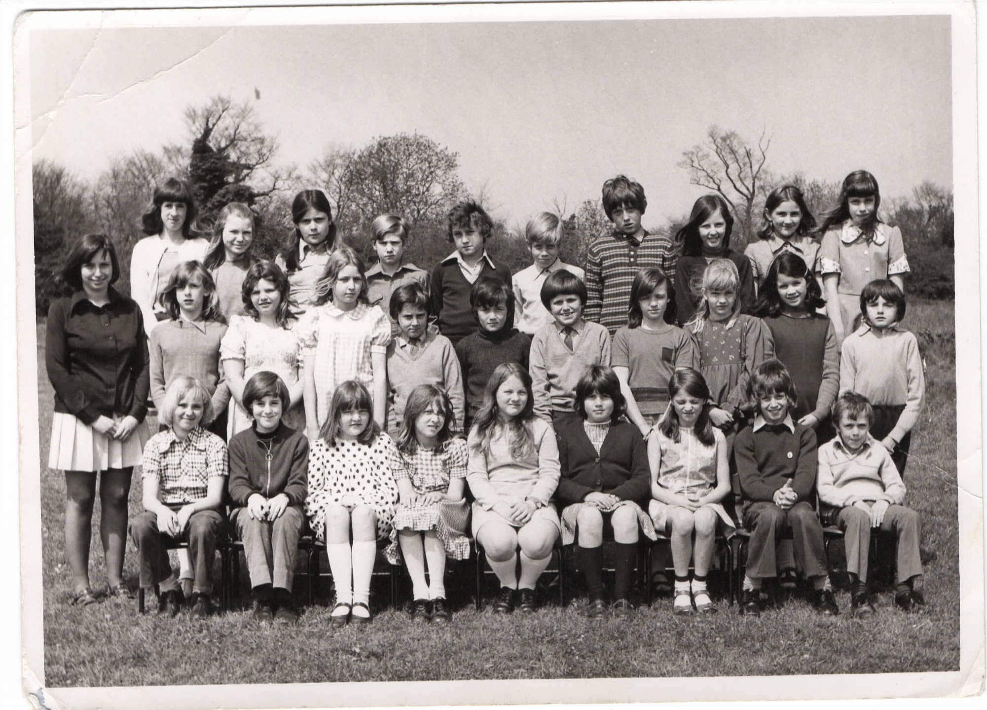 Mrs Gale's class, Chrishall School 1975