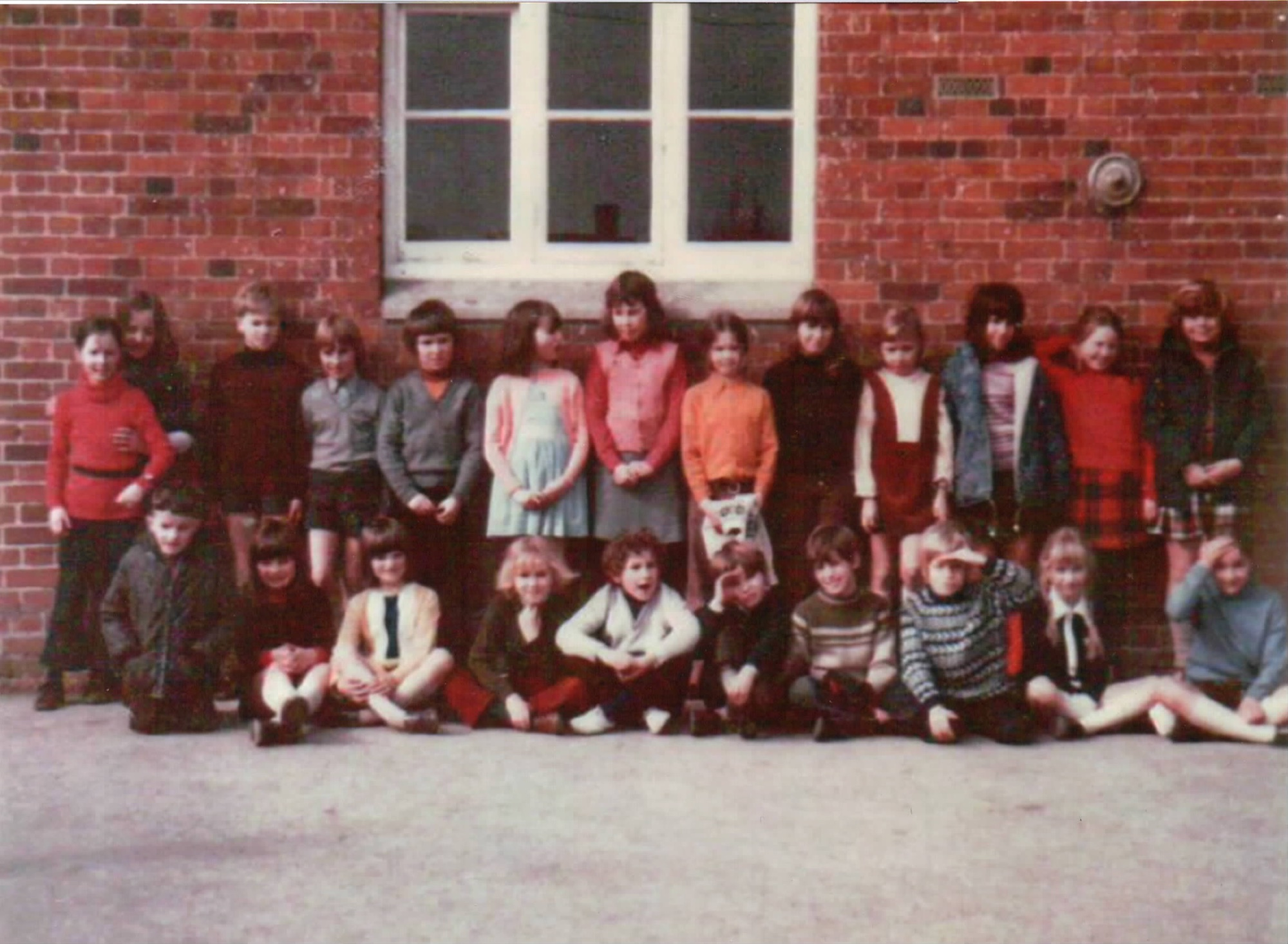 Chrishall School 1969 casual outdoor photo