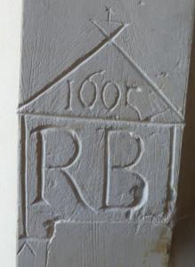 chrishall graffiti from 1605