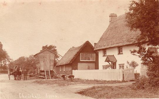 Miss Annie Rogers, Home Farm, Chrishall
